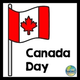 Canada Day File Folder Game
