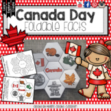 Canada Day Foldable for Interactive Notebooks (on sale for Canada 150!)
