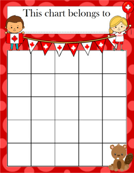 Canada Day Incentive Chart