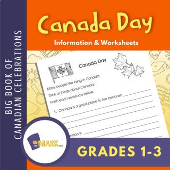 Canada Day Lesson Plan Grades 1-3