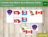 Canada Day Match-Up and Memory