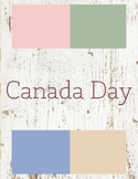 Canada Day Toddler Theme