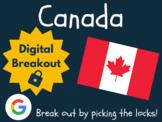 Canada - Digital Breakout! (Escape Room, Scavenger Hunt)
