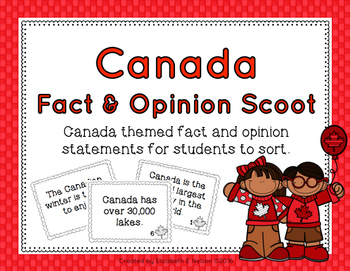 Canada Fact and Opinion Scoot