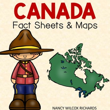Canada - Facts and Maps, plus Memory and Scoot Game