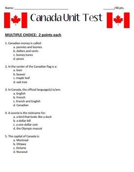 Canada Test