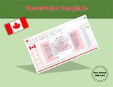 Canada Flag PowerPoint Template