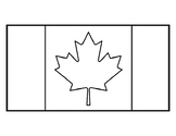 Canada Flag Template Canadian Flag Template Canada Flag Coloring Sheet Outline