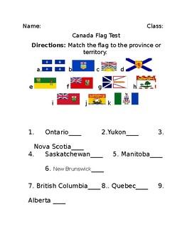 Canada Flag Test