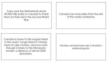 Canada Fun Facts
