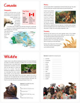 Canada (Fun stuff for elementary grades)