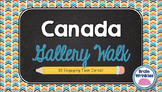 Canada Gallery Walk (Task Cards)