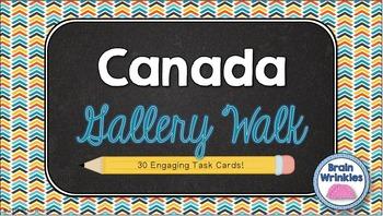 Canada Gallery Walk (Task Cards)