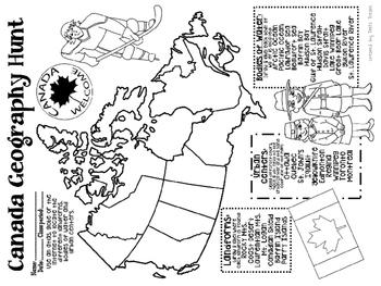 Canada Geography Hunt