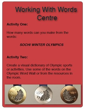 Canada Goes to the Olympics