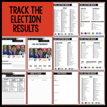 Canada- Government & Parliament UPDATED FOR CANADA FEDERAL 2019 ELECTION!
