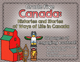 Canada - Histories and Stories - Grade 5 Social Studies