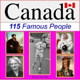 Canada History - 115 Famous People