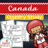 Canada Booklet Country Study Project Unit