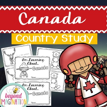 Canada Country Study   48 Pages for Differentiated Learnin