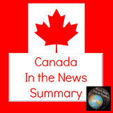 Canada In the News Summary
