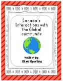 Canada Interactions with Global Community grade 6 social studies