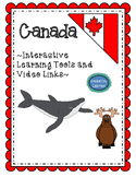 Canada Interactive Games and Video Links