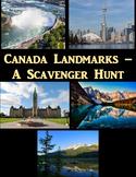 Canada Landmarks-A Scavenger Hunt using Google Maps Digital