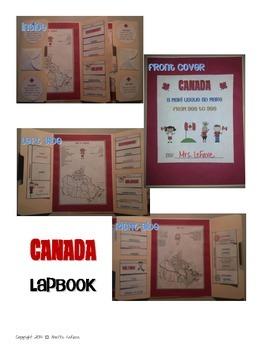 Canada Lapbook