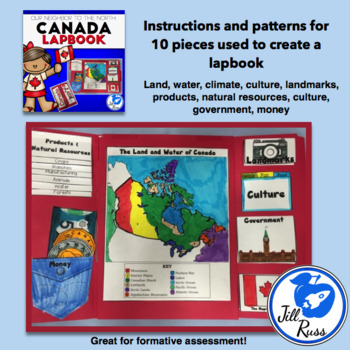 Canada Lapbook or Interactive Notebook