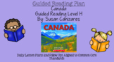 Canada (Level H) Guided Reading Lesson Plan