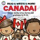 Canada Early Literacy and Social Studies Activities Bundle - Primary
