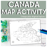 Canada Map Activity || Geography