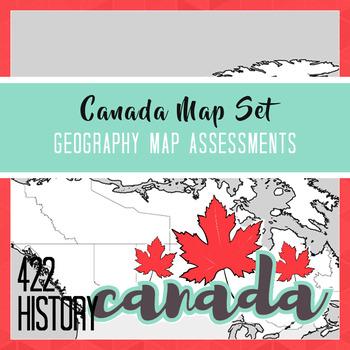 Canada Map Assessment Set