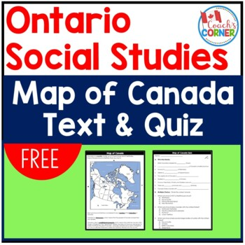 canada map freebie by coach 39 s corner teachers pay teachers. Black Bedroom Furniture Sets. Home Design Ideas