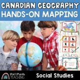 Canada Unit, Hands On Mapping Games