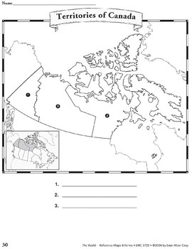 Canada: Maps & Forms
