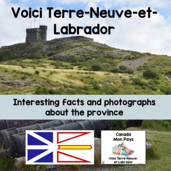 Canada Mon Pays Voici Terre-Neuve-et-Labrador