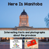 Canada My Country Here Is Manitoba