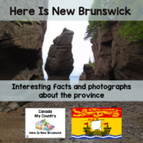 Canada My Country Here Is New Brunswick