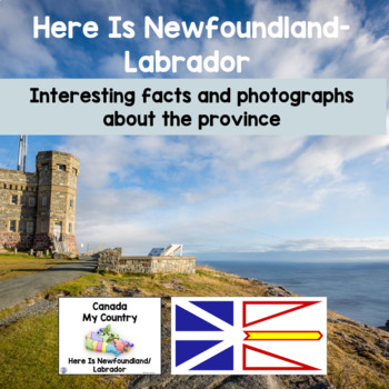 Canada My Country Here Is Newfoundland/Labrador