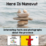 Canada My Country Here Is Nunavut