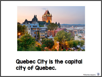 Canada My Country Here Is Quebec
