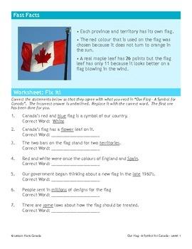 Canada's Flag (ESL 1)