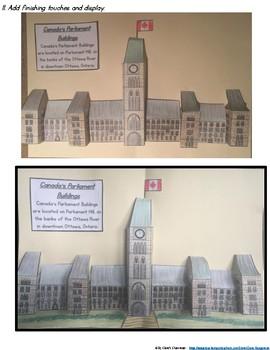 Canada Parliament Building Model