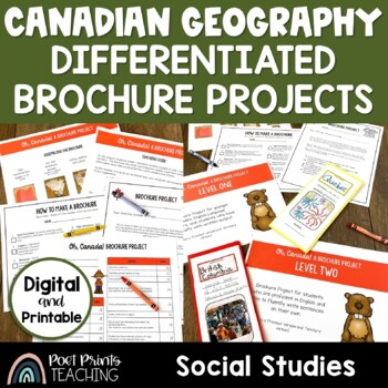Canada Unit, Province and Territory Project, Differentiated
