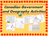 Canada: Government and Geography