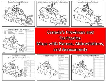 Canada Provinces and Territories Canadian Abbreviations Guide Canada Mapping
