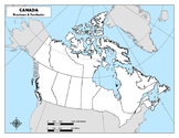 Canada Provinces and Territories Map Bundle
