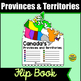 Canada: Provinces and Territories Pennant PLUS Games and Activities